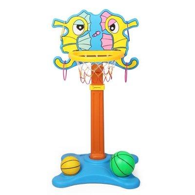 兒童籃球架子可升降室內家用投籃筐架籃球框寶寶戶外運動玩具男孩WZ2649 TW
