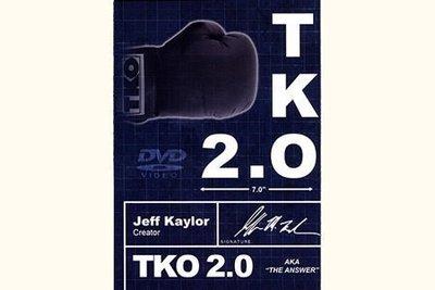 【意凡魔術小舖】TKO 2.0 by Jeff Kaylor 完美消失2.0 消失術升級版