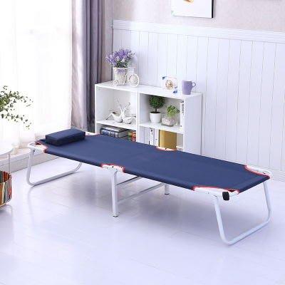 簡易摺疊床單人醫院陪護床辦公室午睡床戶外便捷沙灘床成人行軍床