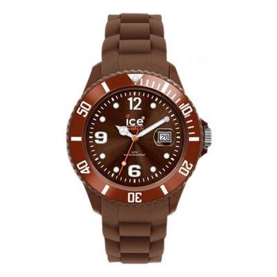 [永達利鐘錶 ] ICE watch 咖啡色膠帶日期錶 SI.BN.B.S.09原廠公司保固24個月 42mm