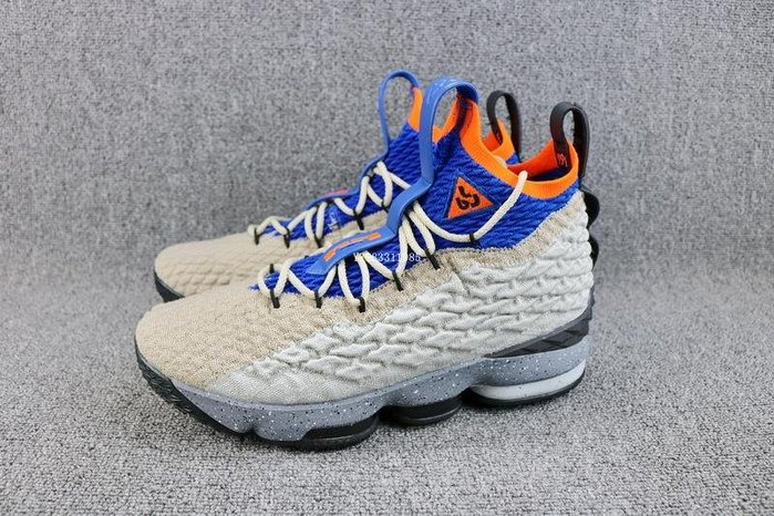 Nike Lebron XV KSA Mowabb LBJ ACG 湖藍橘 高幫 經典 休閒運動籃球鞋 男鞋 AR4831-900