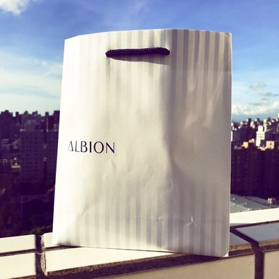 Albion 艾倫比亞 專櫃 正品 禮品袋 紙袋 禮盒袋 購物袋 手提袋 包裝袋 送禮袋 商用袋