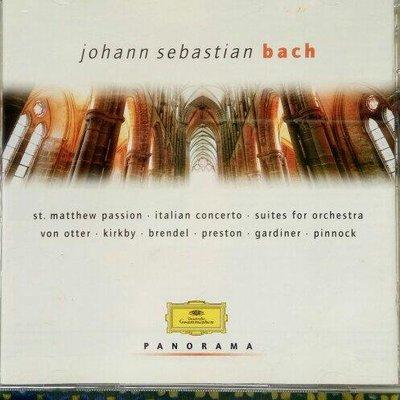 JOHANN SEBASTIAN BACH雙CD