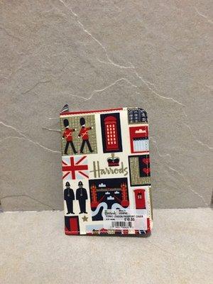 英國正品 Harrods pvc 護照夾
