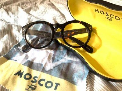MOSCOT玳瑁板料粗框眼鏡、鏡框