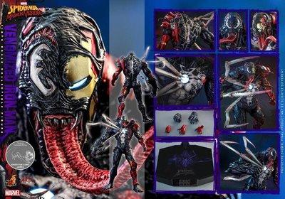 《瘋樂模玩》預購22年第三季 野獸國 Hot Toys AC04 蜘蛛人:極限猛毒 猛毒鋼鐵人訂金3000尾款10100