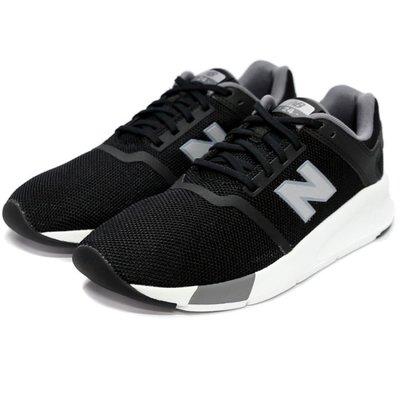 NEW BALANCE 24 MS24BS2 黑色 黑白 輕量 透氣網布 反光LOGO 復古休閒 慢跑鞋 請先詢問庫存