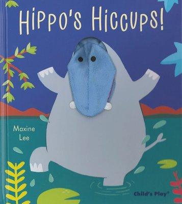 *小貝比的家*HIPPO'S HICCUPS /精裝/3~6歲/手偶書