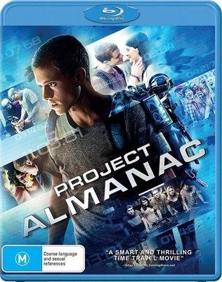 【藍光電影】年鑒計劃 (2014) Project Almanac 《變形金剛》系列導演邁克爾·貝監制的科幻電影 68-022