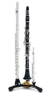 【凱恩音樂教室】免運優惠 HERCULES DS543BB 長笛/豎笛+短笛 三合一架 (附袋) DS-543BB 一