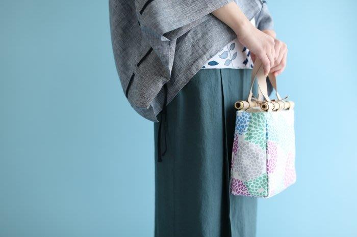 發現花園 日本選物 ~日本製  SOU SOU 竹柄 帆布手提袋