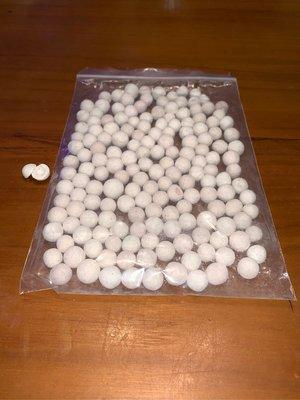 [水族最便宜]MR.AQUA 最新式!奈米級好氧厭氧雙效中空培菌球100g(適合放於小外掛、圓桶、濾槽)