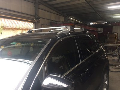 ** 福品小舖 ** 福斯 VW 2017 TIGUAN  汽車 行李架 橫桿 天窗型 車頂架