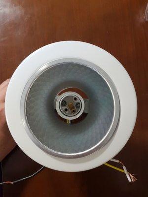 E27直插式崁燈(崁入孔10CM)可調高度