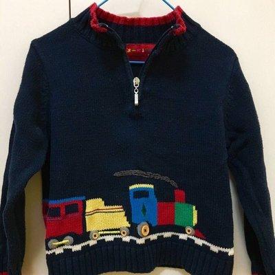 二手品牌男童針織線衫 $290運50 購入1290 S-kids 100cm