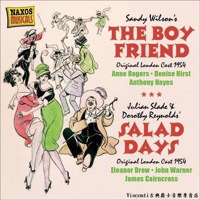 ❤【NAXOS預購】The Boy Friend男朋友/Salad Days沙拉日-音樂劇原聲帶