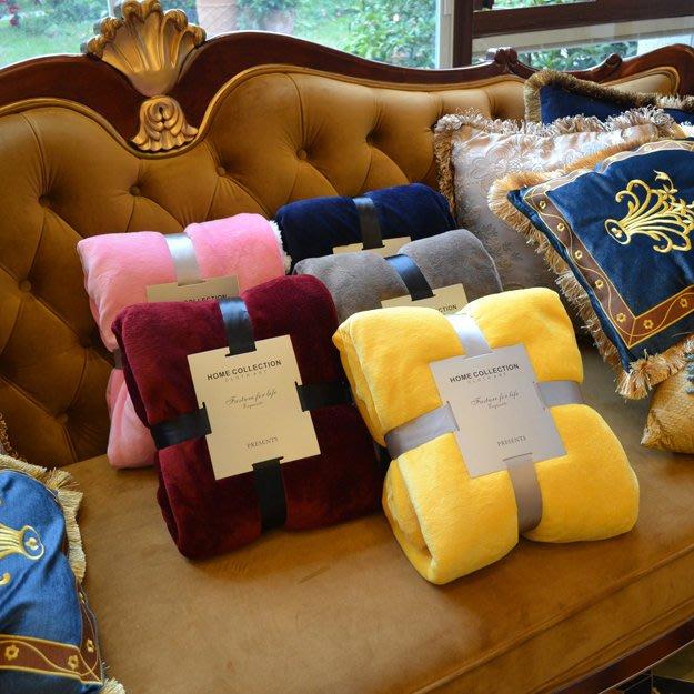 歐美訂單 羊羔絨珊瑚絨毛毯【ZOWOO-B0096】空調毯寵物毯秋冬法蘭絨毯非韓國連線迷你電暖器星巴克狗杯藍色百事可樂