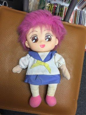 1991年 娛樂金魚眼 華美子 娃娃 公仔
