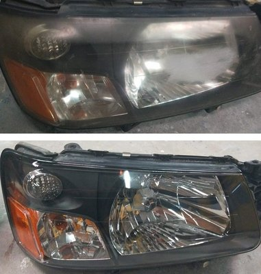 大燈快潔 Subaru 速霸陸 Outback WRX XV Levorg 原廠大燈泛黃霧化拋光翻新處理