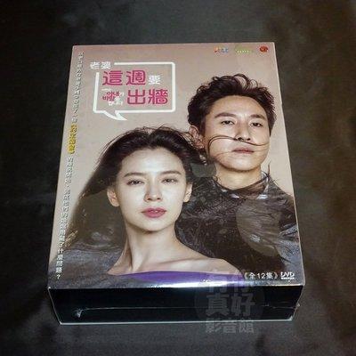 全新韓劇《老婆這週要出牆》DVD (全12集) 李善均/宋智孝/李相燁/寶兒BoA 韓語發音