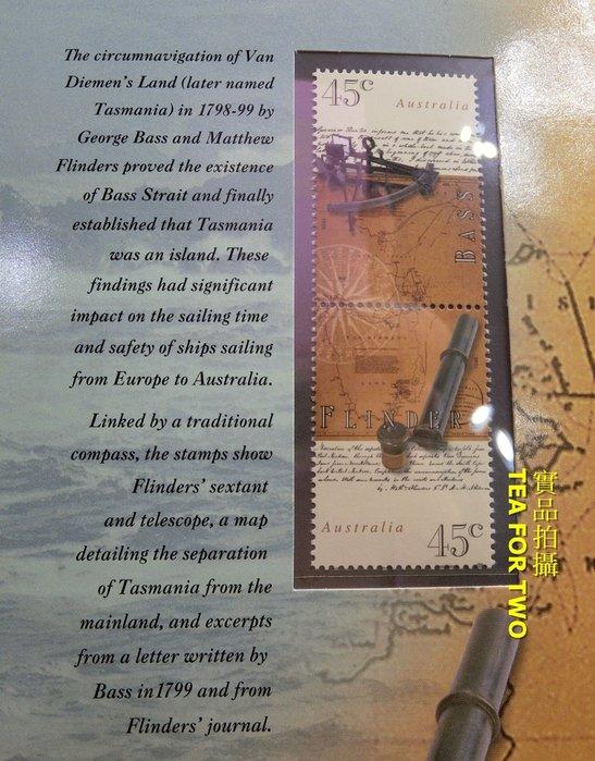 澳洲郵票系列,票卡封/護票卡,郵票的故事一起收藏 + 郵票,編號128432