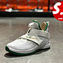 S.G NIKE LEBRON SOLDIER XII GS 白綠 亮皮...