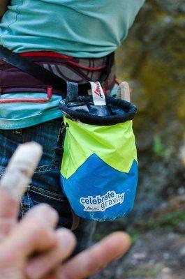 奧地利 AUSTRIALPIN CELEBRATE GRAVITY chalk bag粉袋(羊毛內層)