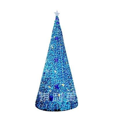 戶外15米大型框架聖誕樹大型活動聖誕裝飾樹10米大型塔樹可定制