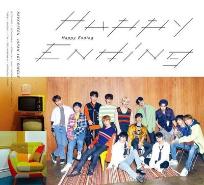 19-605-12-Happy Ending (cd+ 36P寫真A) (日本初限A版)Seventeen