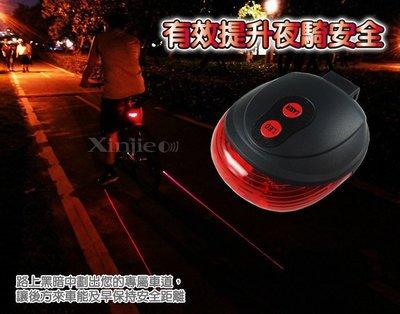 《信捷戶外》【G11】圓形激光尾燈 自...