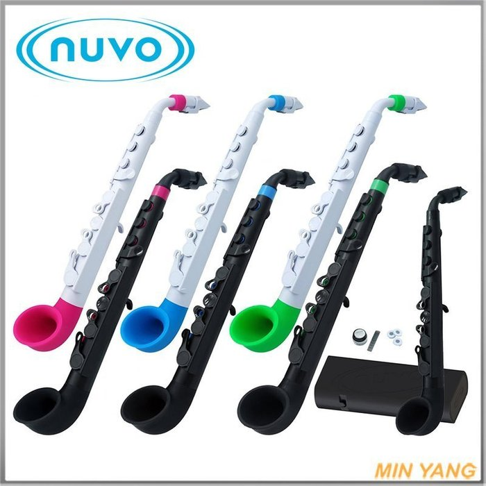 【民揚樂器】免運優惠 薩克斯風 英國 Nuvo J-Sax 簡單易學的薩克斯風 JSax 多種顏色 附直管套件