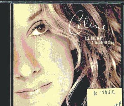 *真音樂* CELINE DION / ALL THE WAY 二手 K17435