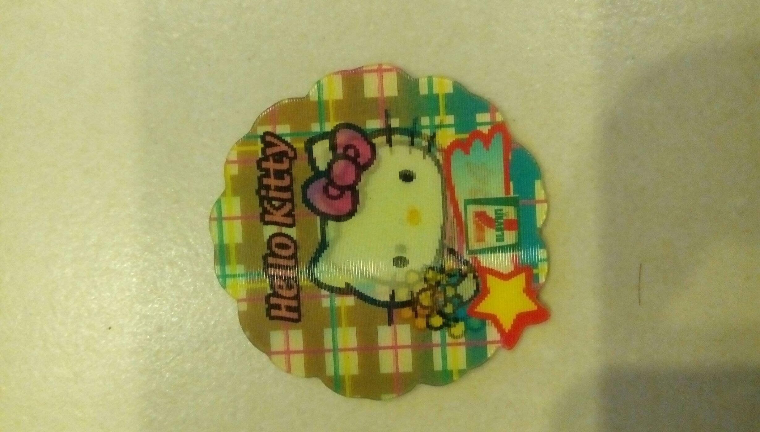 Hello Kitty 1994紀念磁貼,市面少見