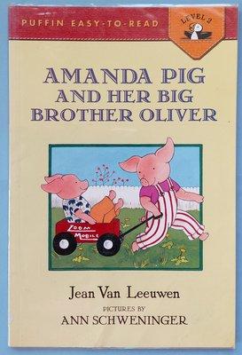 Amanda pig and her Big Brother oliver~英文繪本