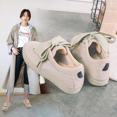 全店折扣活動 復古港風chic小白鞋女新款百搭韓版帆布鞋ins超火學生板鞋潮