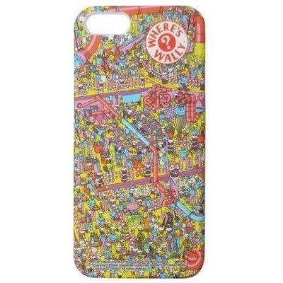 尼德斯Nydus~* 日本正版 Where's Wally 尋找威利 威利在哪裡 手機殼 保護殼 硬殼 iphone5 5s