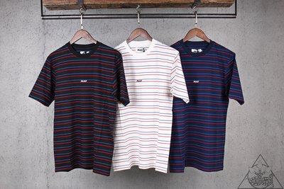 【HYDRA】Palace Basically A Stripe T-Shirt 條紋 短T 小Logo 【PLC61】