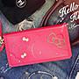 正版 Hello Kitty 側掀式摺疊皮套 公主的盔甲 - 桃色 iPhone X / XS