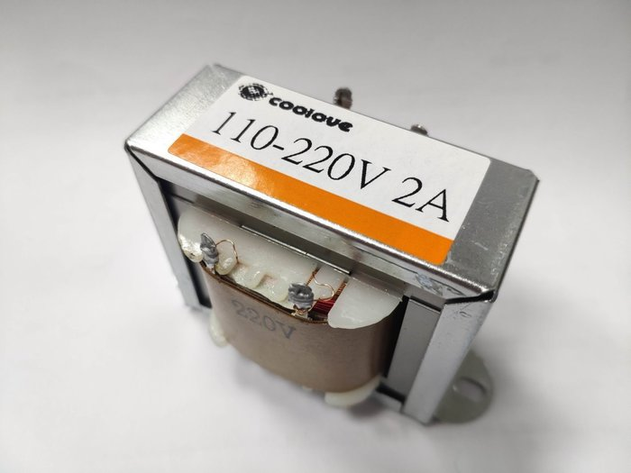 小白的生活工場*AC 110V 轉 220 (2A) 變壓器 (T2A110220V)