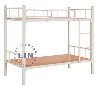 【品特優家具倉儲】P934-12床架角管雙層床