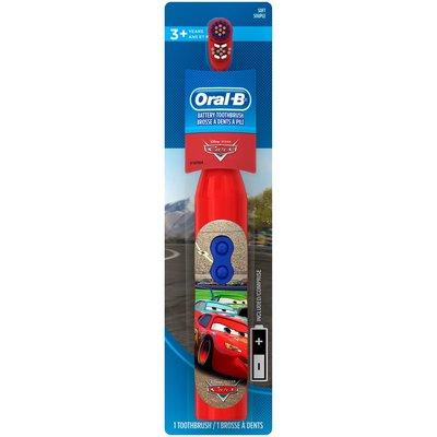 現貨特價Oral-B 歐樂B  兒童用電池式電動牙刷 閃電麥坤 汽車總動員