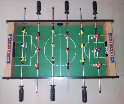 6 桿18人木製手足球檯~大人小孩家庭娛樂休閒~免組裝~限面交~