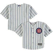 MLB 美國大聯盟 正品 Majestic 芝加哥小熊  Chicago Cubs 棒球衣 背号17號  青年版 生日禮