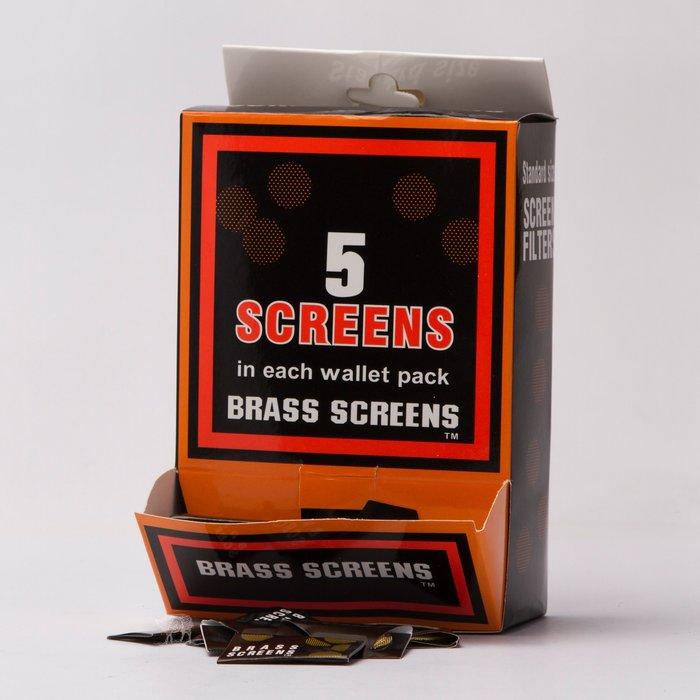 黑羊選物 Brass screens  濾網 單包/整盒 煙斗水煙必備 五片裝 Pipe Filter 不可或缺好夥伴