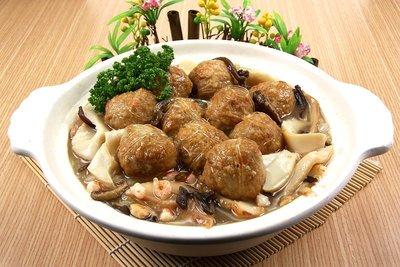 【年菜系列】紅燒獅子頭白菜滷/約140...