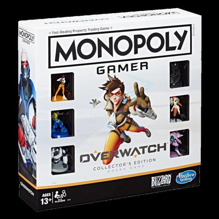 【丹】暴雪商城_Monopoly Gamer: Overwatch 鬥陣特攻 大富翁 卡牌 遊戲