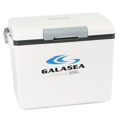 北海岸釣具 ~特價~冰箱(日) GALASEA 14L 14公升 輕巧攜帶方便型戶外冰箱 可手提 可背 釣魚 戶外露營 基隆市