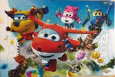 【小笨媽媽手創館】 加厚120片拼圖交通工具..海底動物..卡通動漫兒童玩具