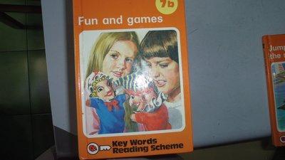【媽咪二手書】7b Fun and games 英文童書 有劃記  515