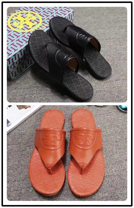 NaNa代購 Tory Burch 拖鞋 涼鞋 兩色可選 穿著舒服 夏季新款 附購證